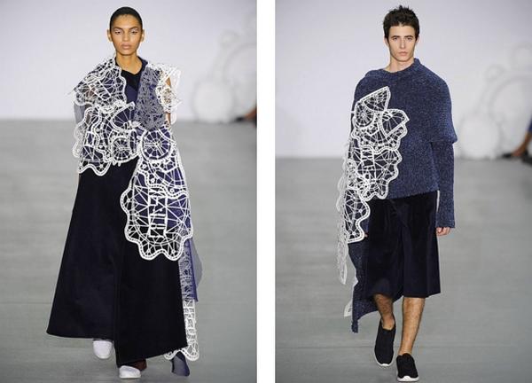 xiao li - london fashion week 2016 show-