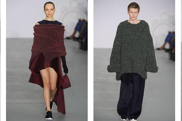 xiao li - london fashion week 2016 show---