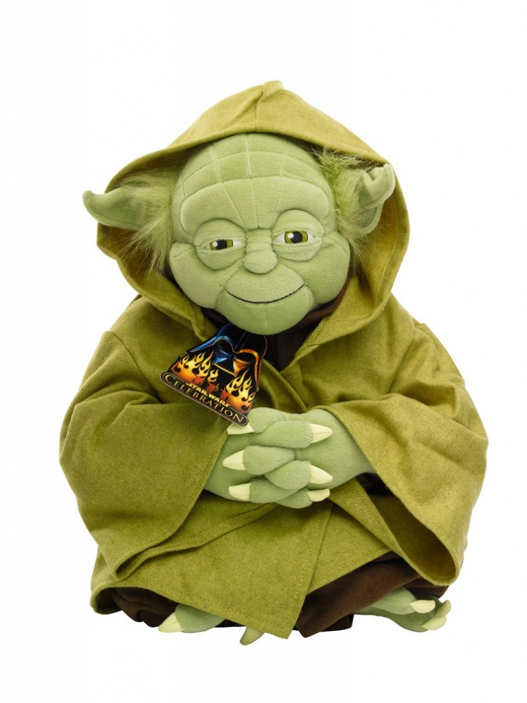 yoda-plush-toy-2005-The First Auction of Star Wars Collectibles at Sothebys