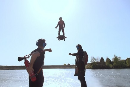 Flyboard Air has achieved the dream of all men