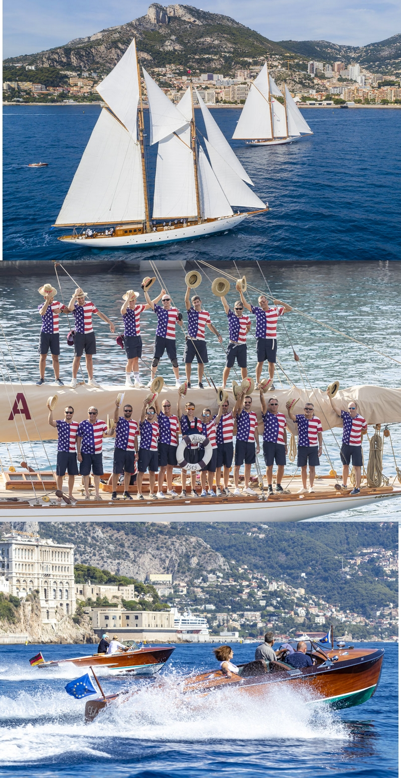 -02- 2019 Monaco Classic Week - Yacht Club de Monaco pays tribute to American yachts from 1851 to 1973