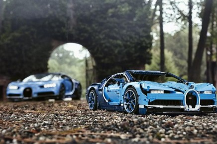 The new Lego Technic Bugatti Chiron brings a reimagined version of the latest cutting-edge super car from Molsheim