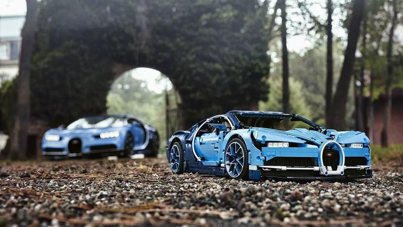 1-8 scale 2018 Lego Technic Bugatti Chiron-gallery-