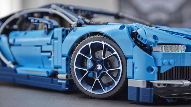 1-8 scale 2018 Lego Technic Bugatti Chiron-gallery