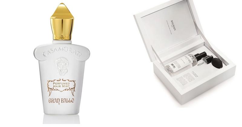 1- Xerjoff Gran Ballo Hair Spray x Balmain Hair Silk Perfume Set