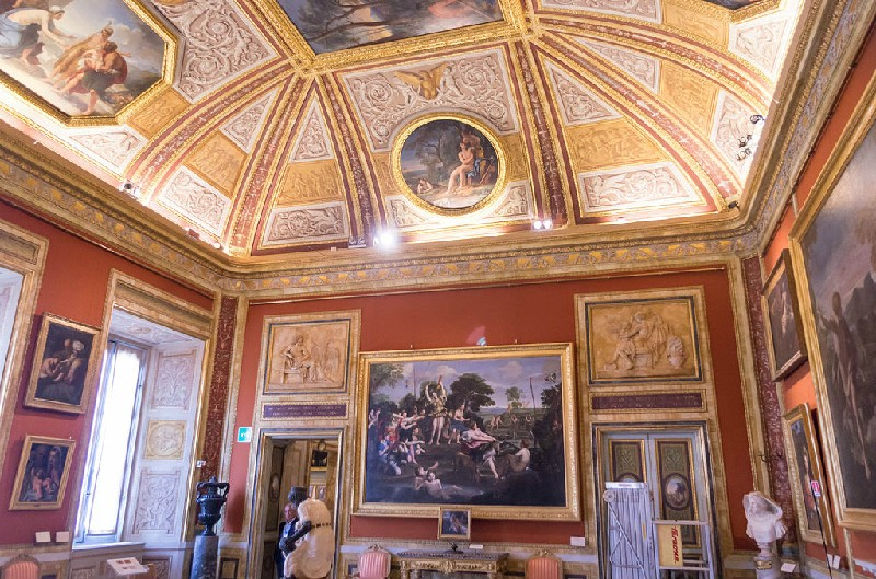 1. paintings in Borghese Gallery
