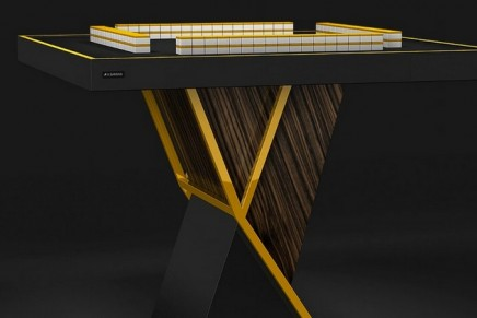 Eleven Ravens debuts the Macan, a luxury Mahjong table
