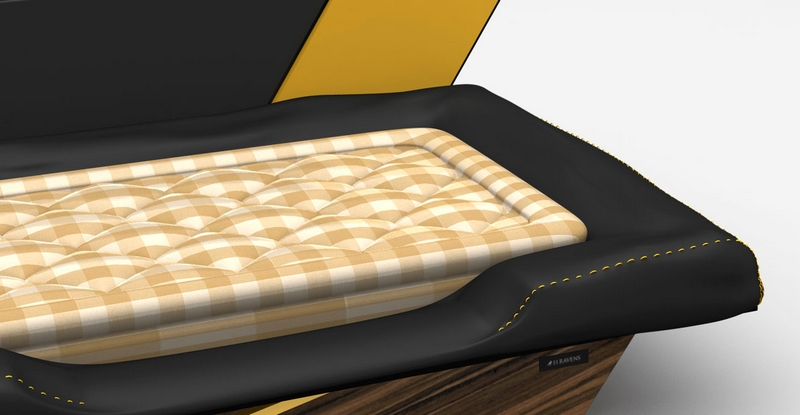 11 Ravens x Hästens Create The Highest Quality Dog Beds - Macan model