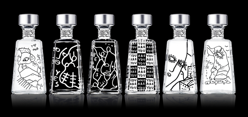 1800 Tequila launches the ninth edition of its Essential 1800 Artists Series featuring visual artist Shantell Martin-