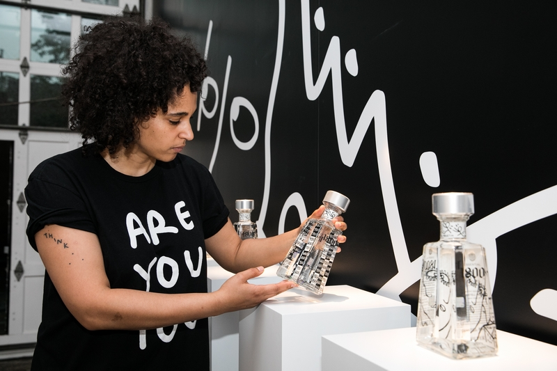 1800 Tequila launches the ninth edition of its Essential 1800 Artists Series featuring visual artist Shantell Martin-2018