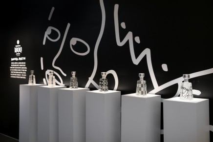 Visual Artist Shantell Martin is using iconic 1800 Tequila bottle as non-traditional canvas