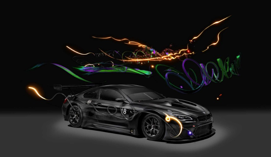 18th BMW Art Car designed by Chinese multimedia artist Cao Fei