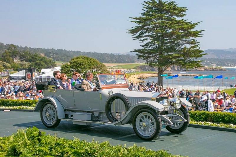 1913 Rolls-Royce Silver Ghost Barker Torpedo - Pebble Beach Concours D'Elegance