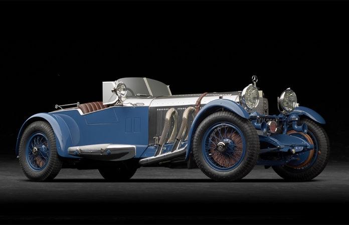 1929 Mercedes-BenzSBarkerTourerBoatTail