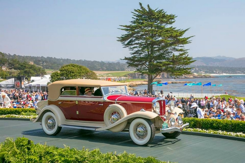 1932 Studebaker President Series 91 Convertible Sedan - 2017 Pebble Beach Concours d'Elegance