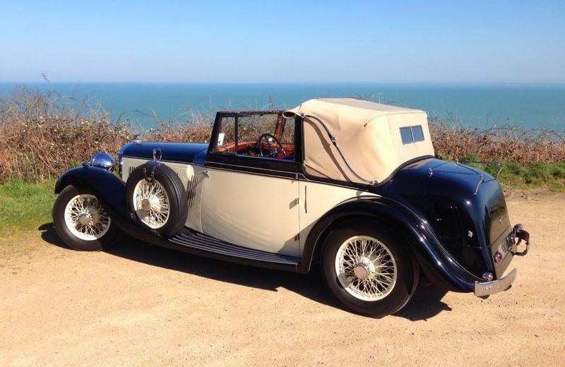 1934 Bentley 3 1-2-litre