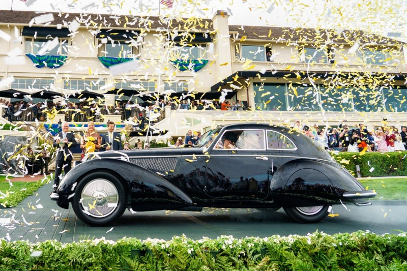 1937 Alfa Romeo 8C 2900B Touring Berlinetta took the top prize in the collector car world -2018 Pebble Beach