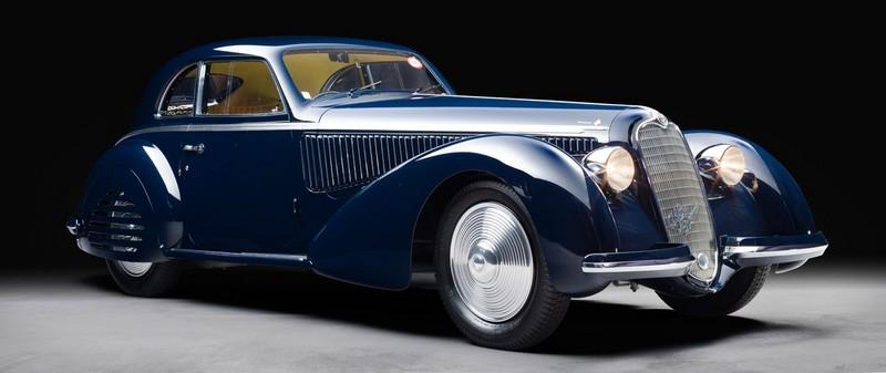 1938 Alfa Romeo 8C 2900B Berlinetta by Touring
