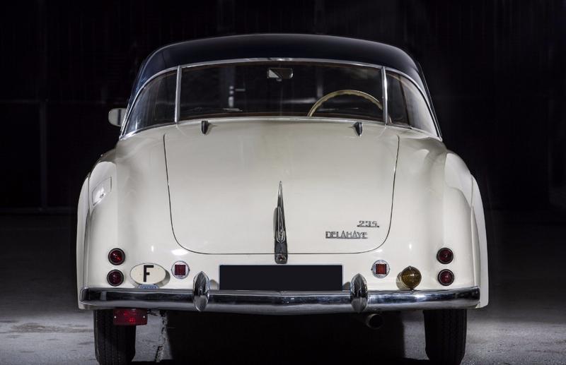 1952 Delahaye 235 coupé Chapron - rear