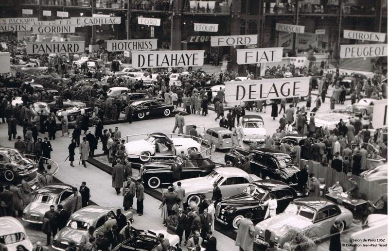 1952 Delahaye 235 coupé Chapron - salon de paris 1952