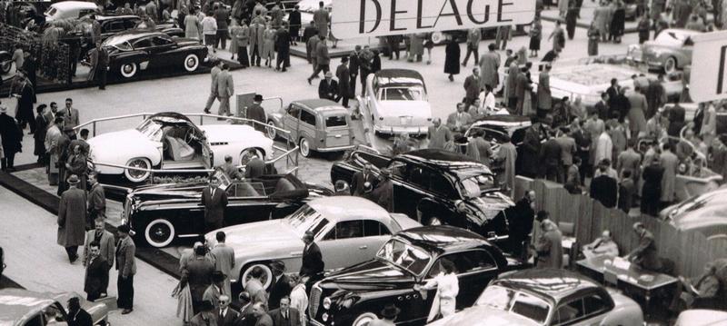1952 Delahaye 235 coupé Chapron - salon de paris1952