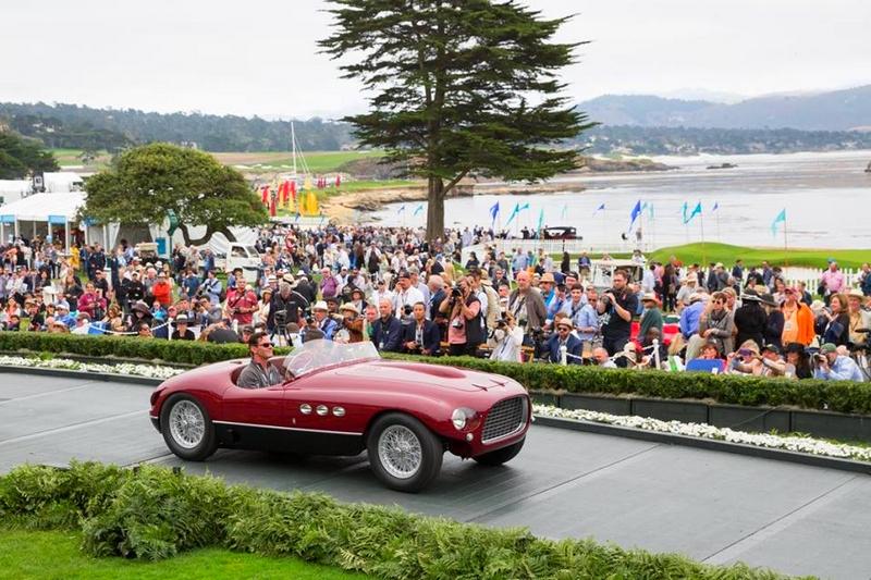 1953 Ferrari 250 MM Vignale Spyder