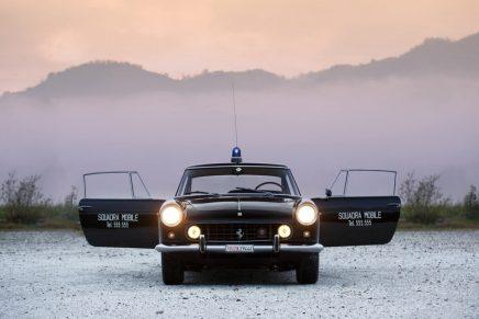 1962 Ferrari 250 GTE 2+2 Polizia is the only Ferrari Police car