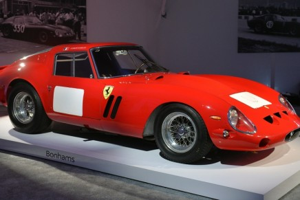The most valuable car in history sold at auction