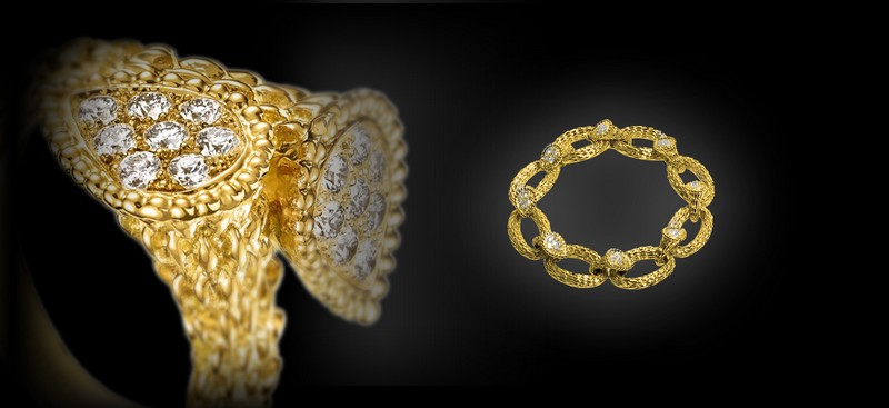1968 - Launch of the first pieces of the Serpent collection by Boucheron