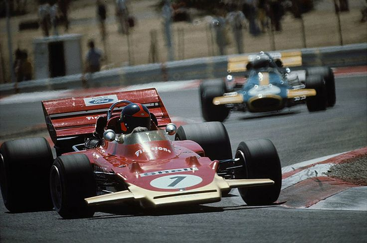 1971 French GP at Paul Ricard Emerson Fittipaldi