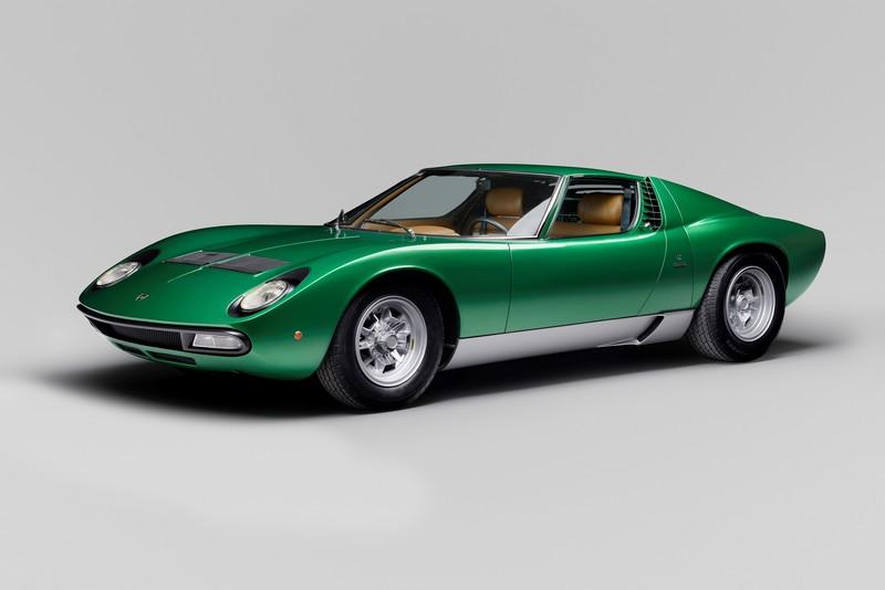 1971 Lamborghini Miura P400 SV Coupe by Bertone