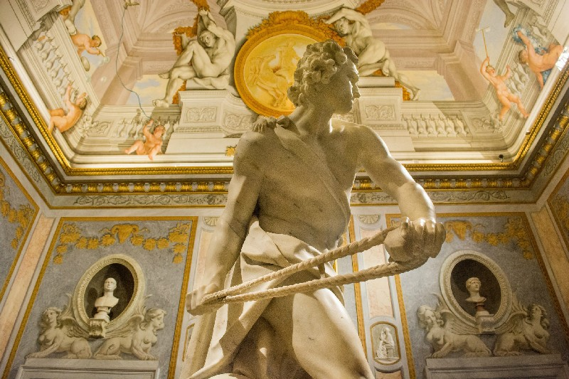 2. sculpture in Borghese Gallery