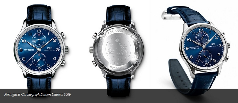 2006 IWC Portugieser watch for Laureus Sport for Good Foundation competition