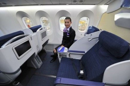 A ticket on the first flight of the Boeing 787 Dreamliner sold for $34,000