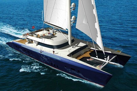 Hemisphere – the largest sailing catamaran in the world