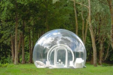 Glamping with Bubble Tree: eco-tourism in transparent luxury tents