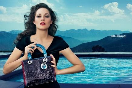 Miss Dior Bag brings Marion Cotillard to LA
