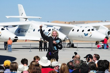 Richard Branson and astronaut Buzz Aldrin opened world's first 'spaceport'