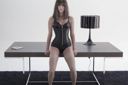 Agent Provocateur Les Fleurs du Mal: listening to Slayer whilst reading Italian Vogue