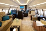 The Airbus A320 Prestige, a custom-fitted ultra-luxury jet by Comlux