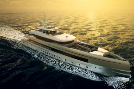 Heesen Yachts plans to deliver the second motor yacht based on a Fast Displacement Hull Form (FDHF)