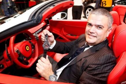 Hublot Big Bang Tourbillon Ferrari: Chrono Rosso