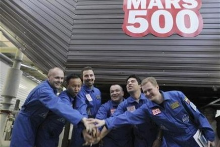 Mars500 experiment, a fake Mars mission, hailed as a success
