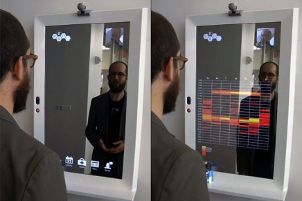 Augmented reflection: Personal Data Mirror