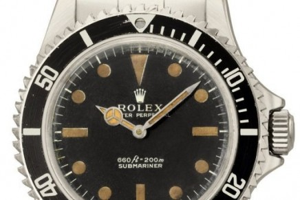 James Bond watch, the most memorable Submariner to appear in movies, sold at Christie's auction