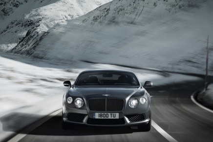 The New Bentley Continental V8 range: GT coupe and the GTC convertible