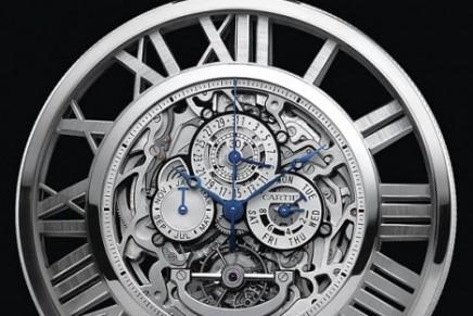Cartier Skeleton Pocket Watch at SIHH 2012