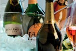 Champagne sales are bubbling again