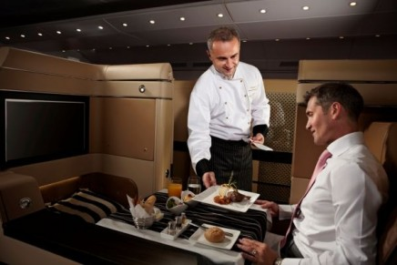 International chefs to cook on Etihad's Diamond First Class cabins