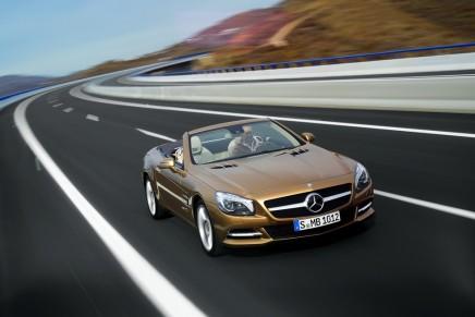 Driving pleasure: The new Mercedes-Benz SL